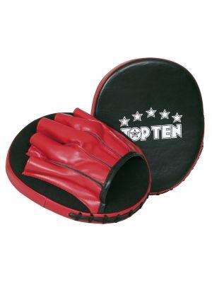 Focus mitt TOP TEN black/red, a pair