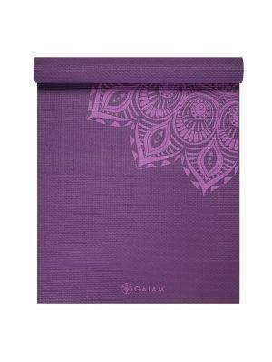 Gaiam Purple Mandala коврик для йоги