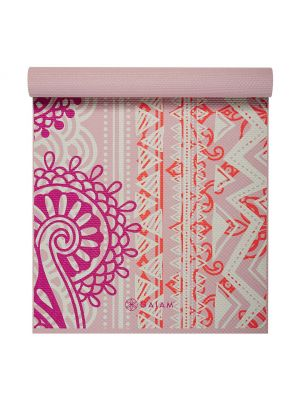 Gaiam Bohemian Rose Yoga Mat