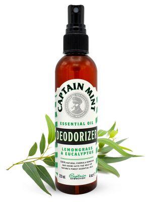 Captain Mint Essential Oil Deodorizer - eucalyptus & lemongrass