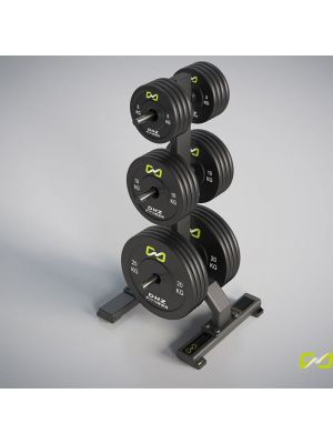 DHZ Fitness Rubber Bumper Plate