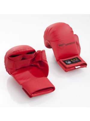 Karate Tsuki TOKAIDO, with thumb, red, Gr. XS- WKF approved-