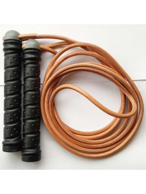 Wacoku Weighted Leather Jumprope