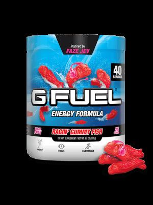 G Fuel Energy Drink - Ragin´ Gummy Fish Tub