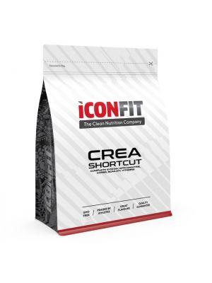 Iconfit CREA Shortcut Complex 1kg, Creatine, BCAA, Energy - Apple