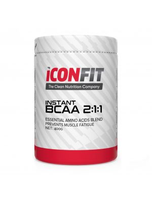 Iconfit BCAA 2:1:1 Amino Acids 400g Unflavoured