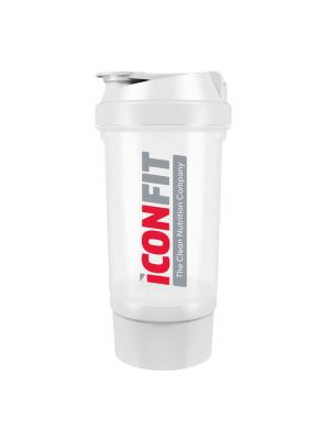 Iconfit Shaker 500ml Two Compartments