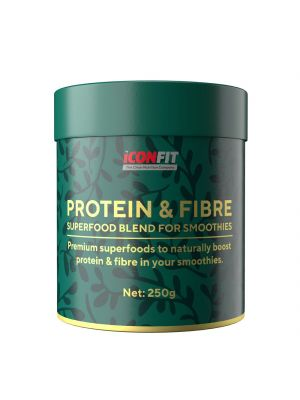 Iconfit Smoothie Protein & Fibre - Raw cacao 250g