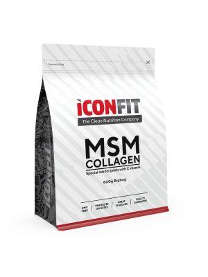 Iconfit MSM Collagen + витамин C 800г Aпельсин