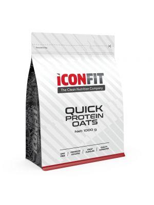 Iconfit Quick Protein Oats Porridge 1kg Apple-Cinnamon