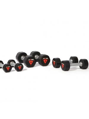 Liveup Gym Hexagon dumbbells