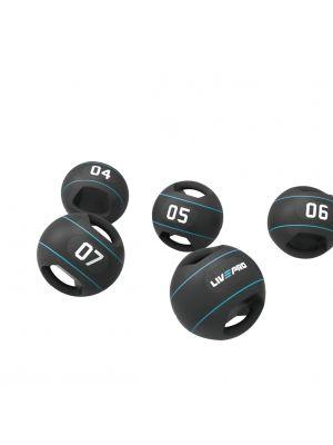Liveup double grip medicine ball