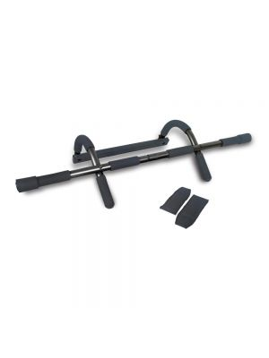 Liveup Doorstep Chin-Up Bar With Arm Straps