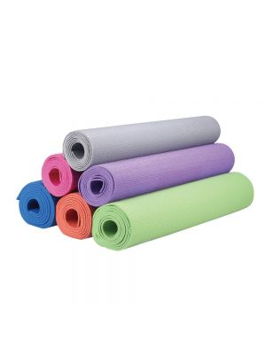 Liveup Pvc Матик для гимнастики и йоги- синий 173x61cм 4мм