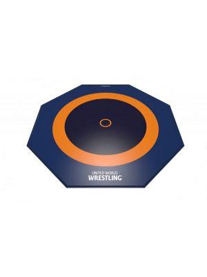 Dojo Octagon 12x12m 3-zone UWW certified wrestling mat