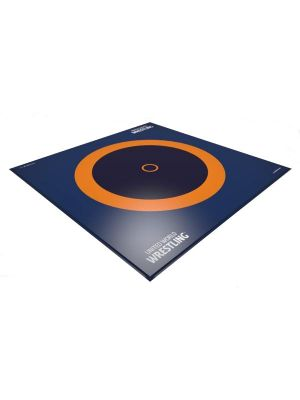 Dojo Official 12x12m 3-zone UWW certified wrestling mat