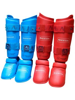 Arawaza WKF Approved karate shinguards