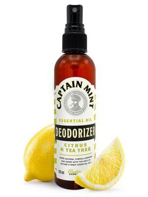 Captain Mint Essential Oil Deodorizer - lemon & rosemary