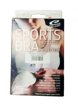 Top Ten Coolguard Breast Guard Top Inlet- White S