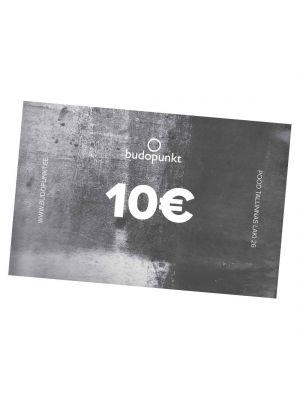 10€ Budopunkt Gift Card