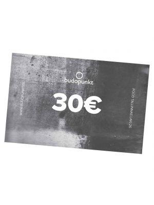 30€ Budopunkt Gift Card