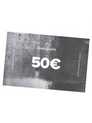 50€ Budopunkt Подарочная карта