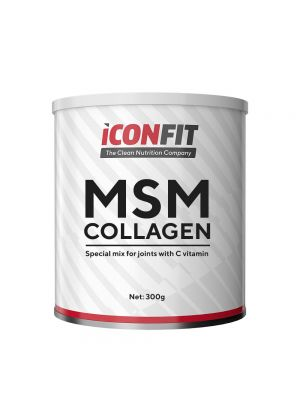 Iconfit MSM Collagen + витамин C 800г Клюква