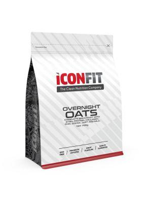 Iconfit Overnight Oats Porridge 700g Chocolate-Peanut
