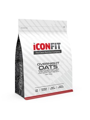 Iconfit Overnight Oats Porridge 700g Apple-Cinnamon
