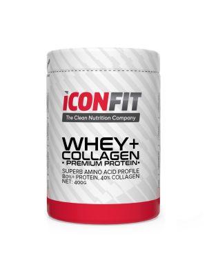 Iconfit WHEY+ Collagen - Premium Protein - - Strawberry 1kg